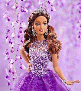 eb315ec7ef2 DWF61 Barbie Quinceanera Doll 2017 Mint in Box Beautiful Mattel Doll ...
