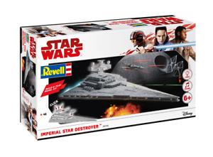 kejserlig stjärna Destroyer (stjärnornas krig) 1 4000 Revell Build och spela Kit