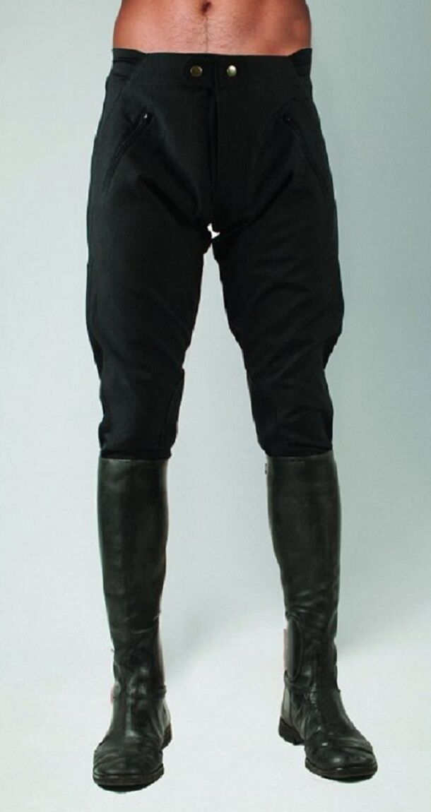 Horseware Unisex FANTINI showerproof Da Corsa Esercizio Pantaloni da equitazione, NeroBlu Scuro 2434