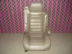 Hummer H2 Sitz rechts vorn Leder grau Ledersitz kompl. Leather Seat right OEM