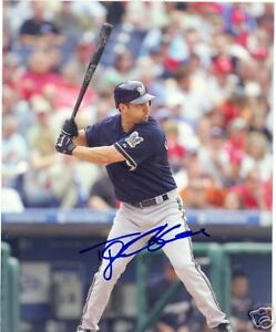 TONY GRAFFANINO MILWAUKEE BREWERS SIGNED 8X10 PHOTO