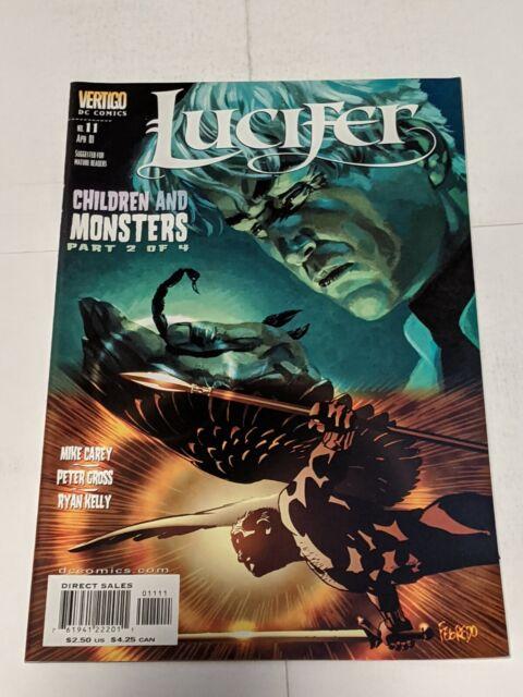 Lucifer #11 April 2001 DC Vertigo Comics Carey Gross