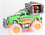 Dinosaurio-Hauler-Monster-Truck-Con-Jaula-luz-y-musica-Jurassic-Off-Road-Coche-de-juguete miniatura 5