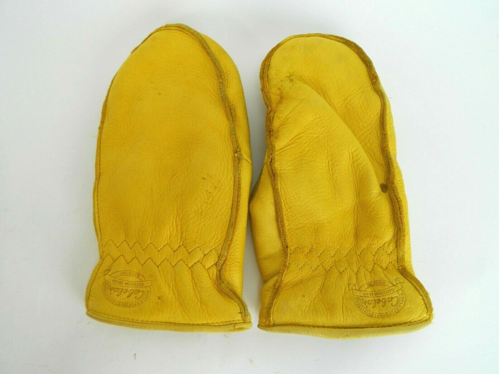 CHOPPER MITTENS LINED LEATHER WOMENS LARGE THINSULATE
