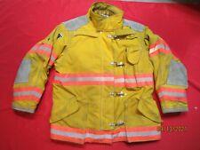 Lion Body Guard 46 X 32r Firefighter Turnout Bunker Gear Jacket Coat Rescue Tow