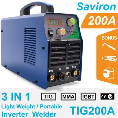 Stick ARC Inverter DC Welder 220-Amp TIG-Torch TIG-220DC 110V /& 220V Welding