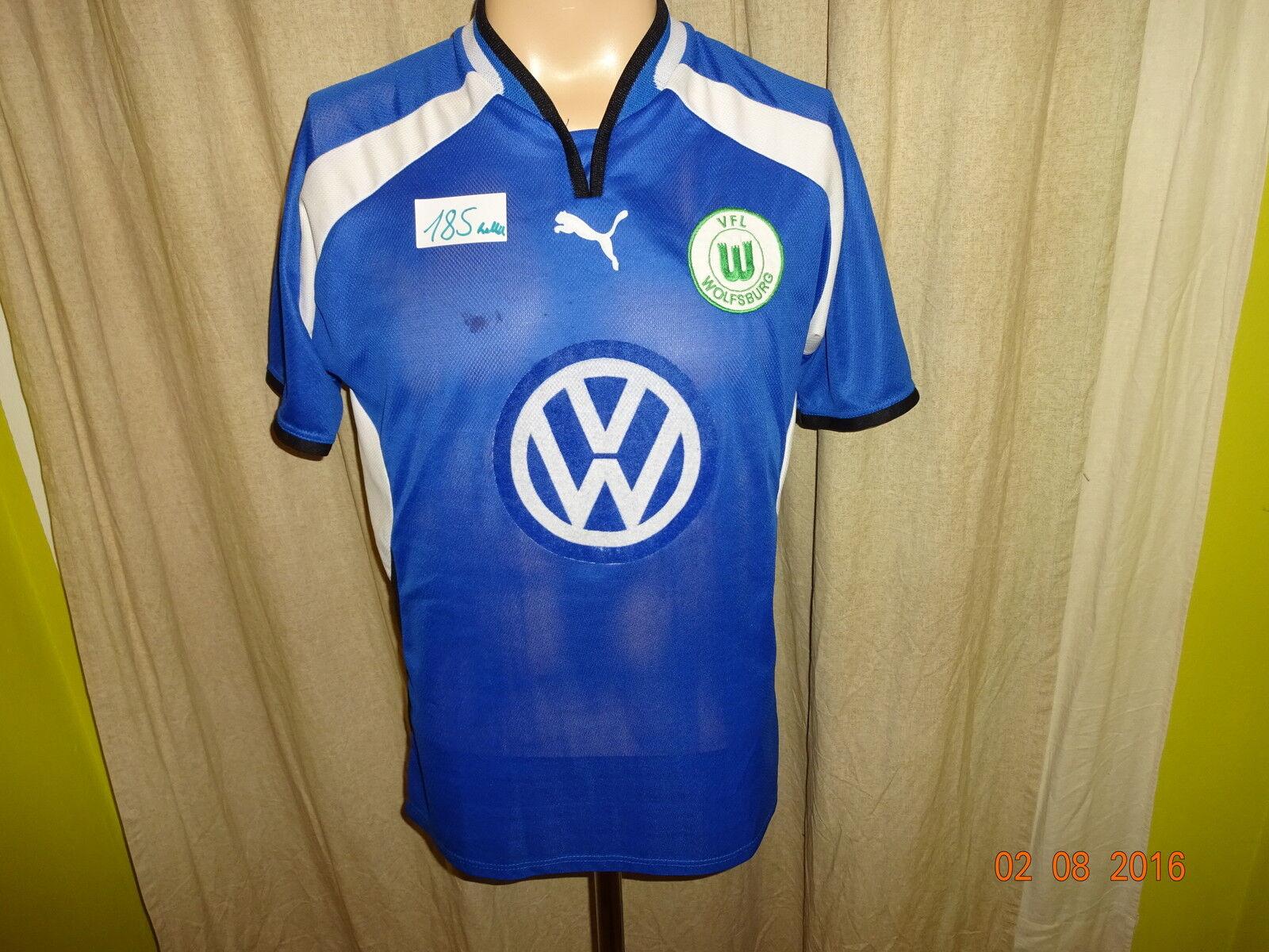 VfL Wolfsburg Original Puma Ausweich Trikot 2000/01