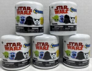 5 Star Wars Mashems Series 1 Blind Capsules New & Sealed W1