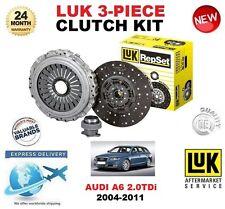 FÜR AUDI A6 2.0 TDi 4F2 C6 4F5 + AVANT NEU KUPPLUNG SATZ 2004-2011 LUK 3-tlg.