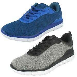 SALE Mens Air Tech lace Up Casual Everyday Trainers PROFILE