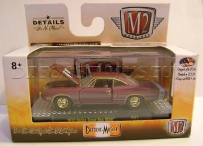 M2 Machines 1:64 Detroit Muscle Release 43 1970 Dodge Super Bee Hemi