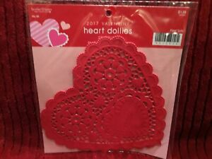 "Other Baking Accessories Kitchen, Dining & Bar Hot Sale New Valentine's Red Heart Doilies ~ 20 Count ~ 6"" X 5.75"""