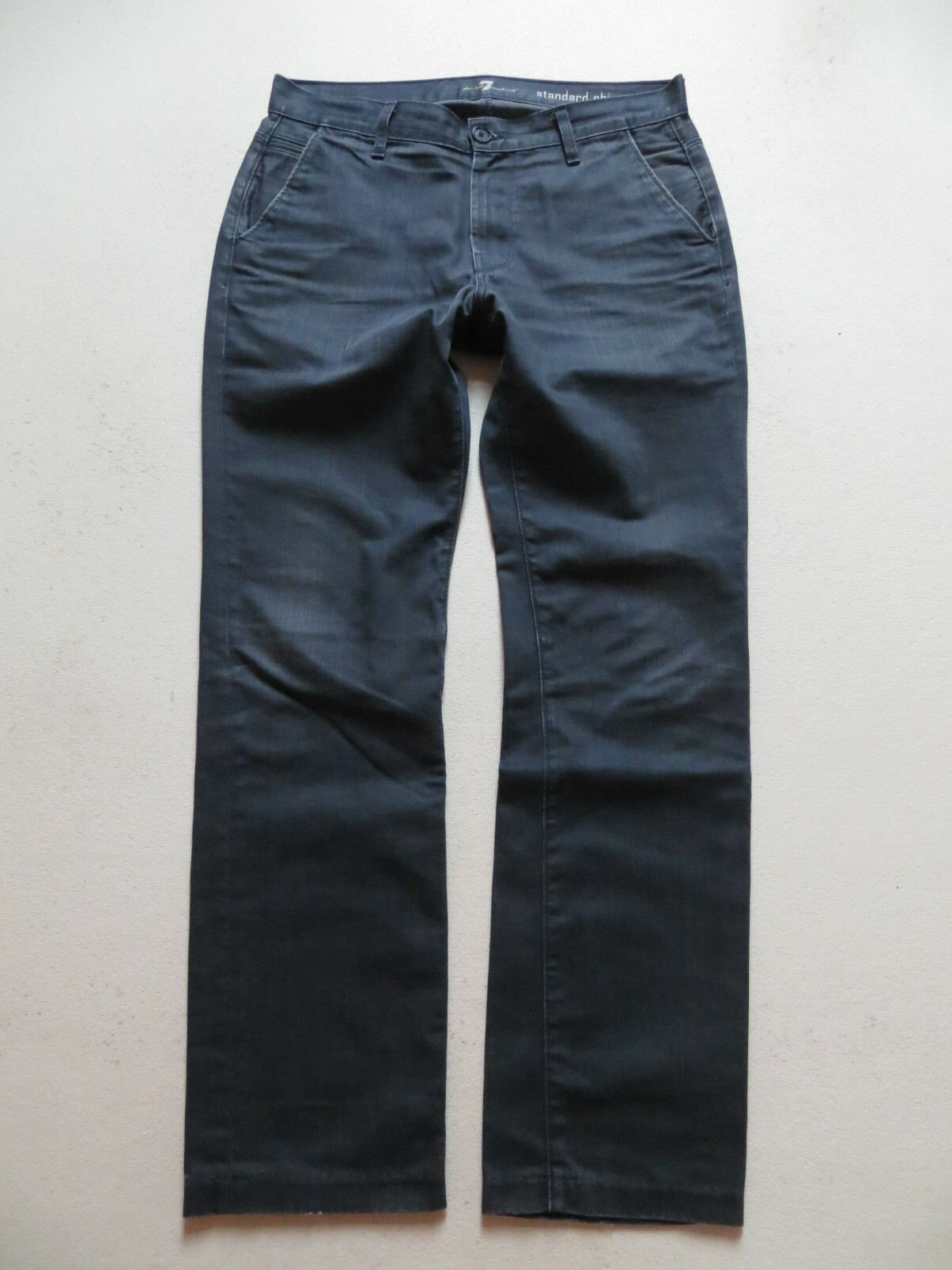 Seven 7 For All Mankind standard chino Jeans Hose W 34  L 32 made in USA RAR