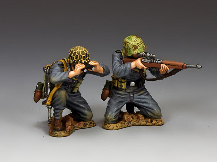 King and Country The Sniper Team (2 figures) WH082