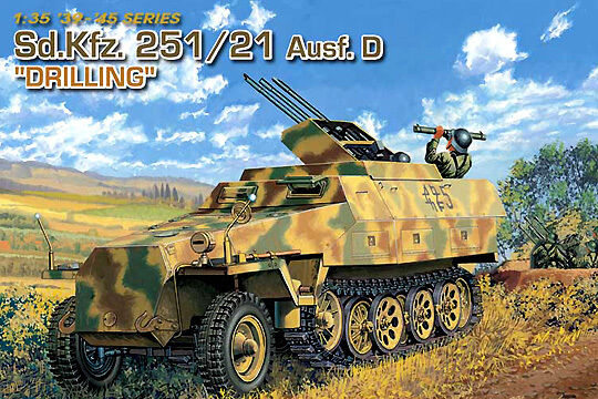 Dragon 1  3 3 3 5 6217  sd.kfz.251 21d  Drilling  e9680b