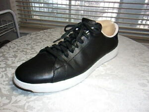 COLE-HAAN-MENS-GRAND-PRO-BLACK-CASUAL-LACE-SNEAKERS-SZ-10-M