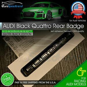 Original Audi Spare Parts Emblem Logo for Audi Quattro