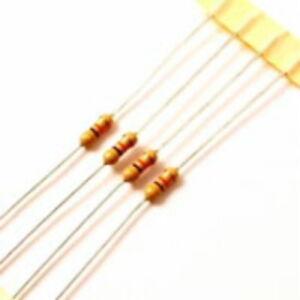 10 o 100 Pack 11.000 a 100k Carbono resistencias de película 0.25 w