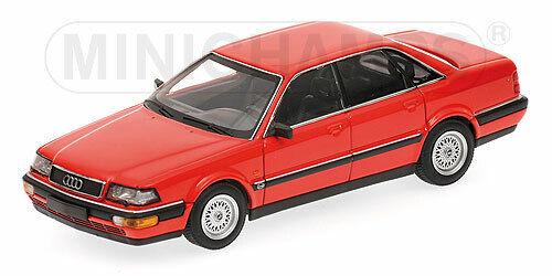 Minichamps AUDI V8 1988 (Rosso) 1 43 400016001
