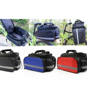 Mountain-Road-Bike-Bags-Bicycle-Double-Side-Rear-Rack-Tail-Seat-Bag-Pannier-AU