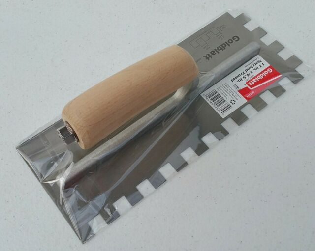 "AMTECH 11/"" Notched Float Trowel Wooden Handle"