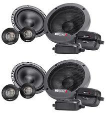 """(2) Pairs MB QUART FSB216 6.5"""" 280 Watt Car Audio Component Speakers"""