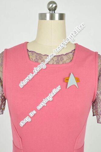 Voyager Kes Costume Lace Dress Pink Vest Women/'s Halloween Party Wear Details about  /Star Trek