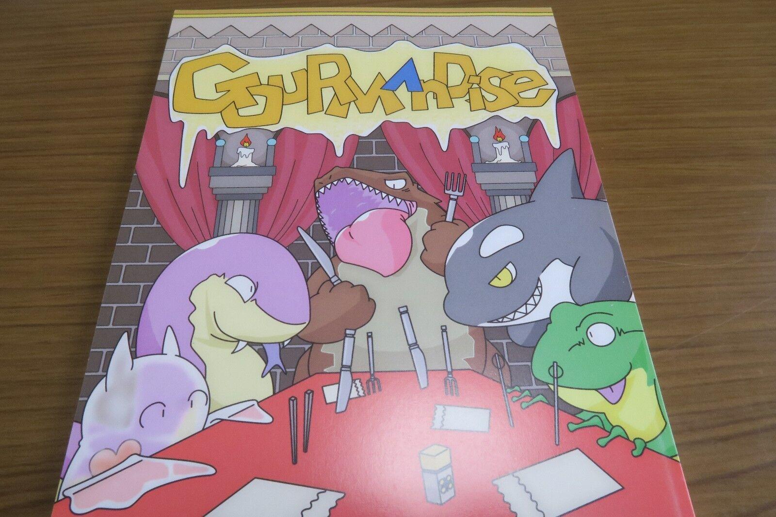 Kemono & Pokemon Doujinshi Gouruomodise Vore (A5 68pages) Dragon  Life C86 Furry  fino al 60% di sconto