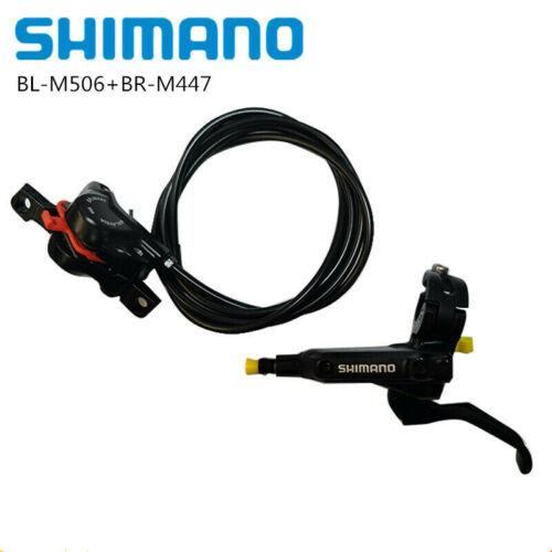 SHIMANO BL M506 BR M447 BR M355 Hydraulic Disc Brake Set 2 Piston Brake Lever Ca