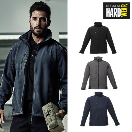 Unisex Full-Zip Jacket Regatta Hardwear Sandstorm Workwear Softshell TRA651
