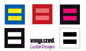 Gay-Pride-Human-Rights-Marriage-Equality-bi-Equal-LGBT-Vinyl-Decal-Sticker-LGBTQ