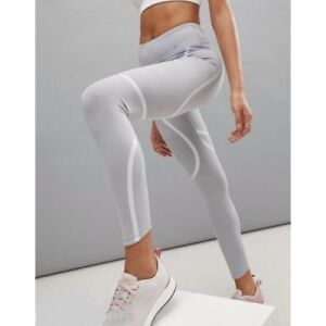 WOMENS-NIKE-POWER-EPIC-LUX-RUN-GRAPHIC-TIGHTS-SIZE-L-AH6090-027-ATMOSPHERE-GREY
