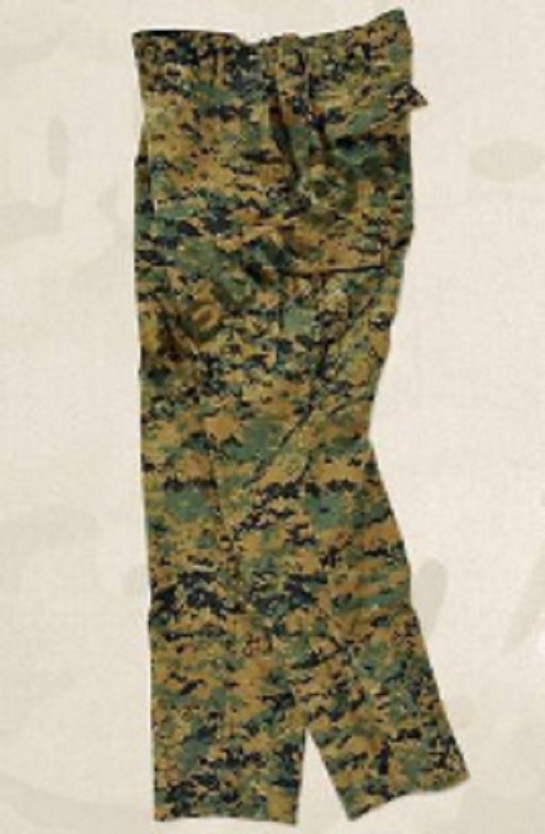 Woodland Digital US Marines USMC Army MARPAT MCCUU Trousers Pants SL Small Long