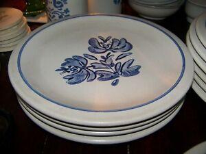 4-pc-FALTZGRAFF-YORKTOWNE-DINNER-PLATES-USA-UNUSED
