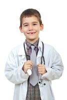 Boys & Girls Scientist Doctor White Lab Coat Super Soft Medical Coat For Kids