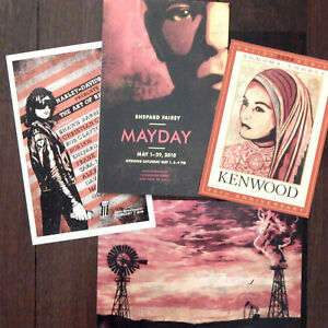 Shepard-Fairey-JEAN-MICHEL-BASQUIAT-2010-Art-Exhibition-Poster-Obey-Postcards