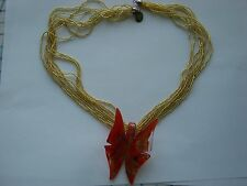 Murano Glass Necklace, ITALY, Handmade