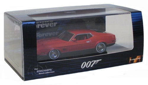 Minichamps Ford Mustang Mach 1 From James Bond 'Diamonds Are Forever' - 1 43
