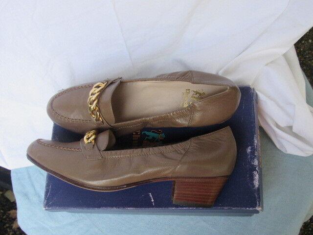 Zapatos de Cuero Church'S Church'S Church'S Inglaterra Amalfi Detalle de Cadena de Mujeres 8.5 Nuevo  descuento de ventas