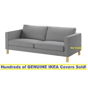 Details about IKEA Karlstad 3 Seat Sofa cover (80 3/4\