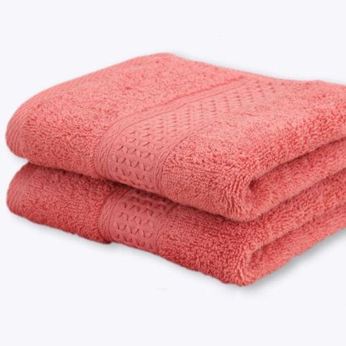100/% Coton Super Soft Hand//Bain Visage Serviette de bain Home Use multicolor