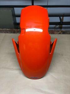 07-08-Honda-CBR-600-RR-Front-Fender-Wheel-Cover-Cowl-Body-OEM-Cracked