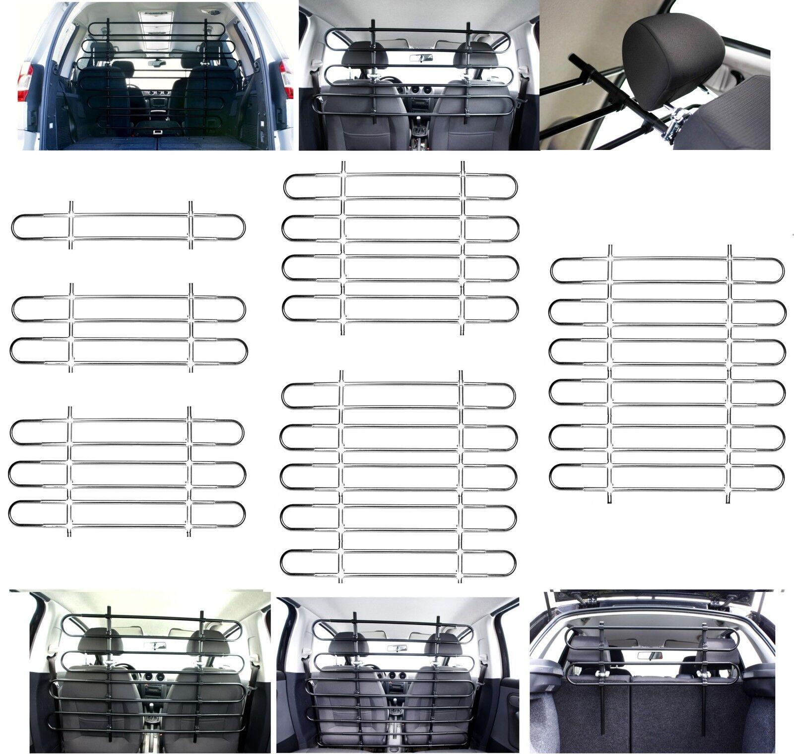 OVITAN Trenngitter fürs Auto universal für Kopfstützen
