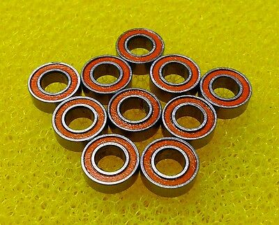 ABEC-7 S686-2RS 6x13x5 mm 1 PCS 440c Stainless Steel CERAMIC Ball Bearing