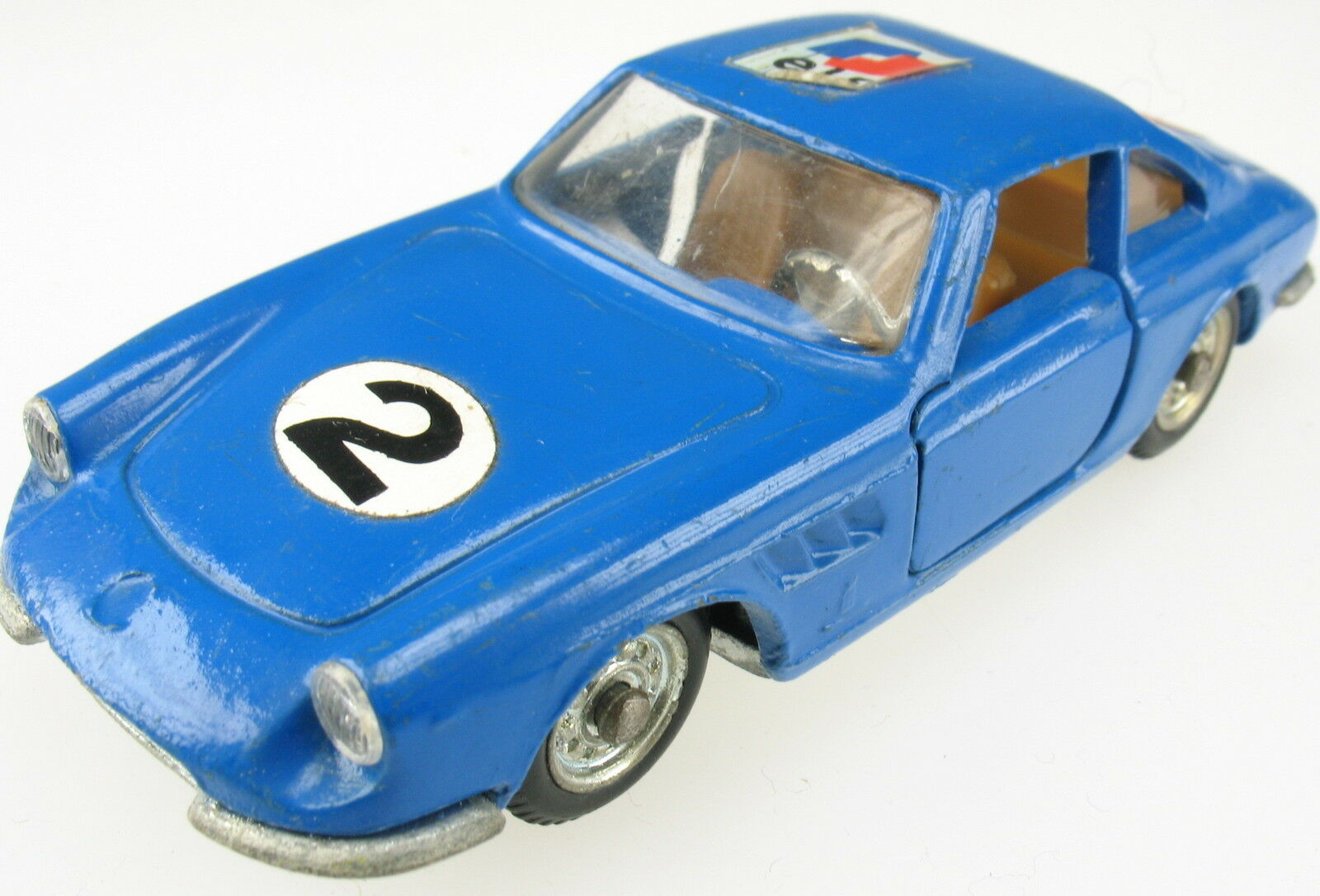 POLITOYS EXPORT 562-FERRARI 330 GTC-BLU - 1 43 - model car
