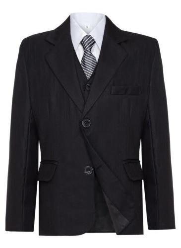Black Pinstripe Suit 1 to 12 years Grey Boys Amazing 5 Piece Value Dark Navy