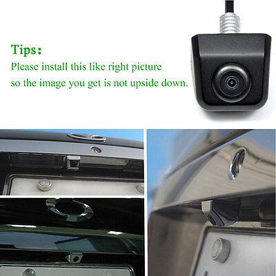 HD Waterproof Car Rear View Reverse Backup Parking Camera 170° Night vision CCD
