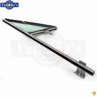68-72 Chevy Pickup Truck Door Vent Wing Window Glass Chrome Frame Handle Asm Rh