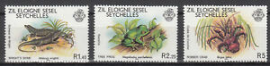 Seychellen-Aussere-Seychellen-Mi-Nr-30-32-aus-1981-postfrisch-Tiere