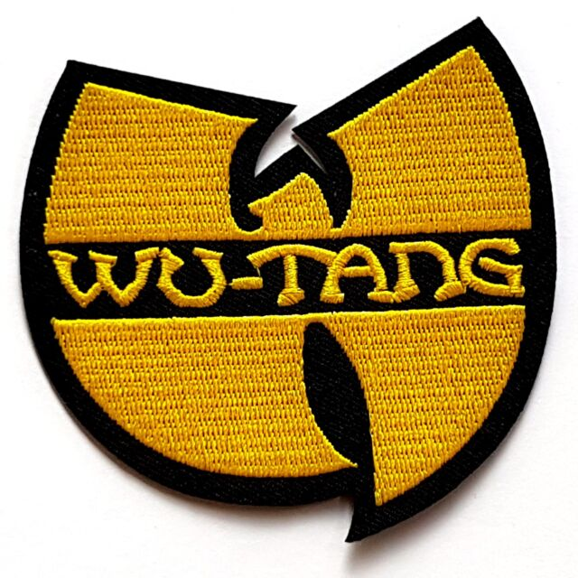 Wu Tang Clan Logo Music Hip Hop Rock Hardcore Rap Iron On